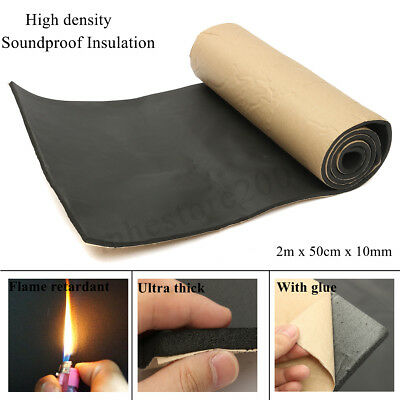 High Density Soundproof Insulation Thermal Closed Cell Foam Waterproof 2m X