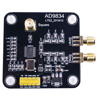 Us Ad9834 Sine Wave Triangle Wave Square Wave Dds Signal Generator Module