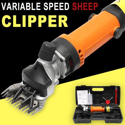 690w Electric Farm Machine Supplies Sheep Goat Shears Animal Shearing Clipper