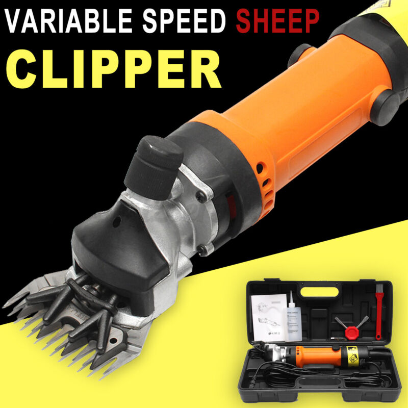 690W Electric Farm Machine Supplies Sheep Goat Shears Animal Shearing Clipper