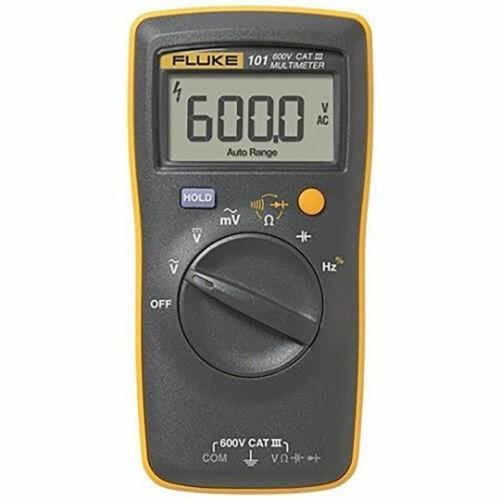 (US BUYER) FLUKE 101 Basic Digital Multimeter Portable Meter AC/DC Volt Tester