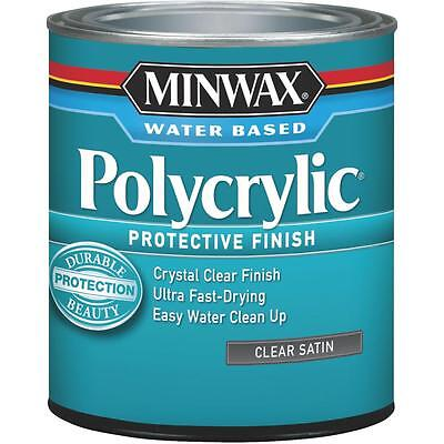 Int Satin - Minwax Int Satin W/B Polycrylic