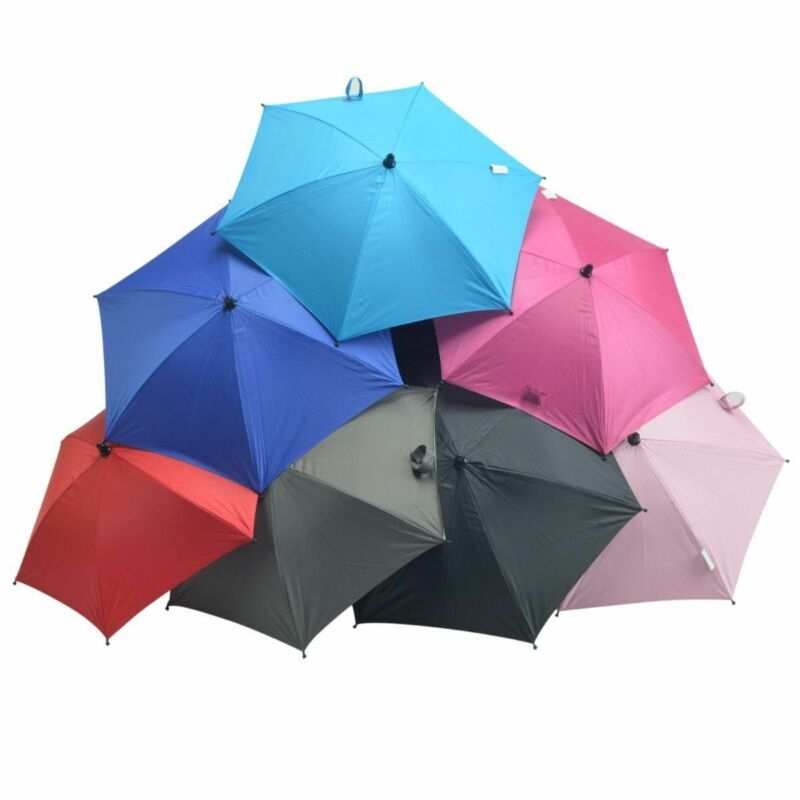 Baby Parasol Umbrella Compatible with My Babiie Canopy Protect Sun & Rain