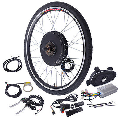 "26"" Electric Bicycle 48V 1000W Rear Wheel Conversion Kit New E-Bike Motor Hub"