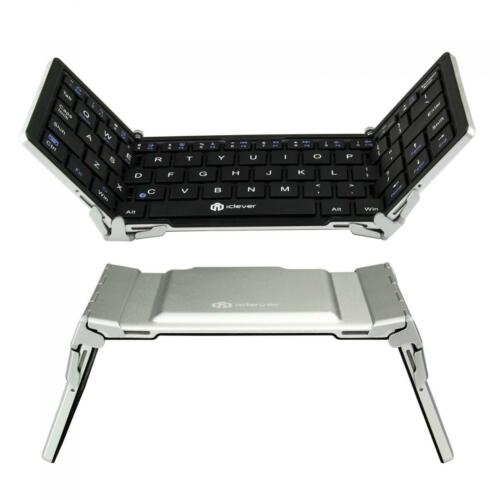 iClever Portable Bluetooth Keyboard Ultraslim Mini Wireless