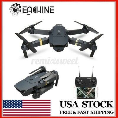 Eachine E58 2.4G RC Foldable Selfie Drone WIFI FPV 2MP 720P Camera RC Quadcopter