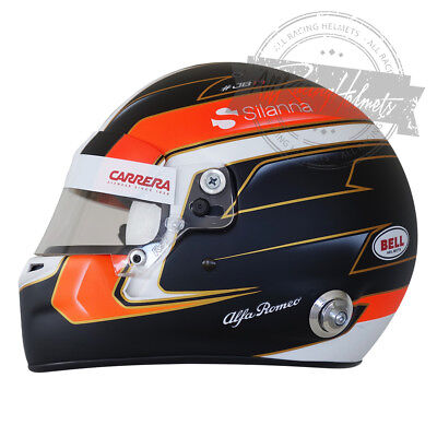 Used, Charles Leclerc 2018 Season Formula 1 F1 Replica Helmet Scale 1:1 Helm Casque  for sale  Hollywood