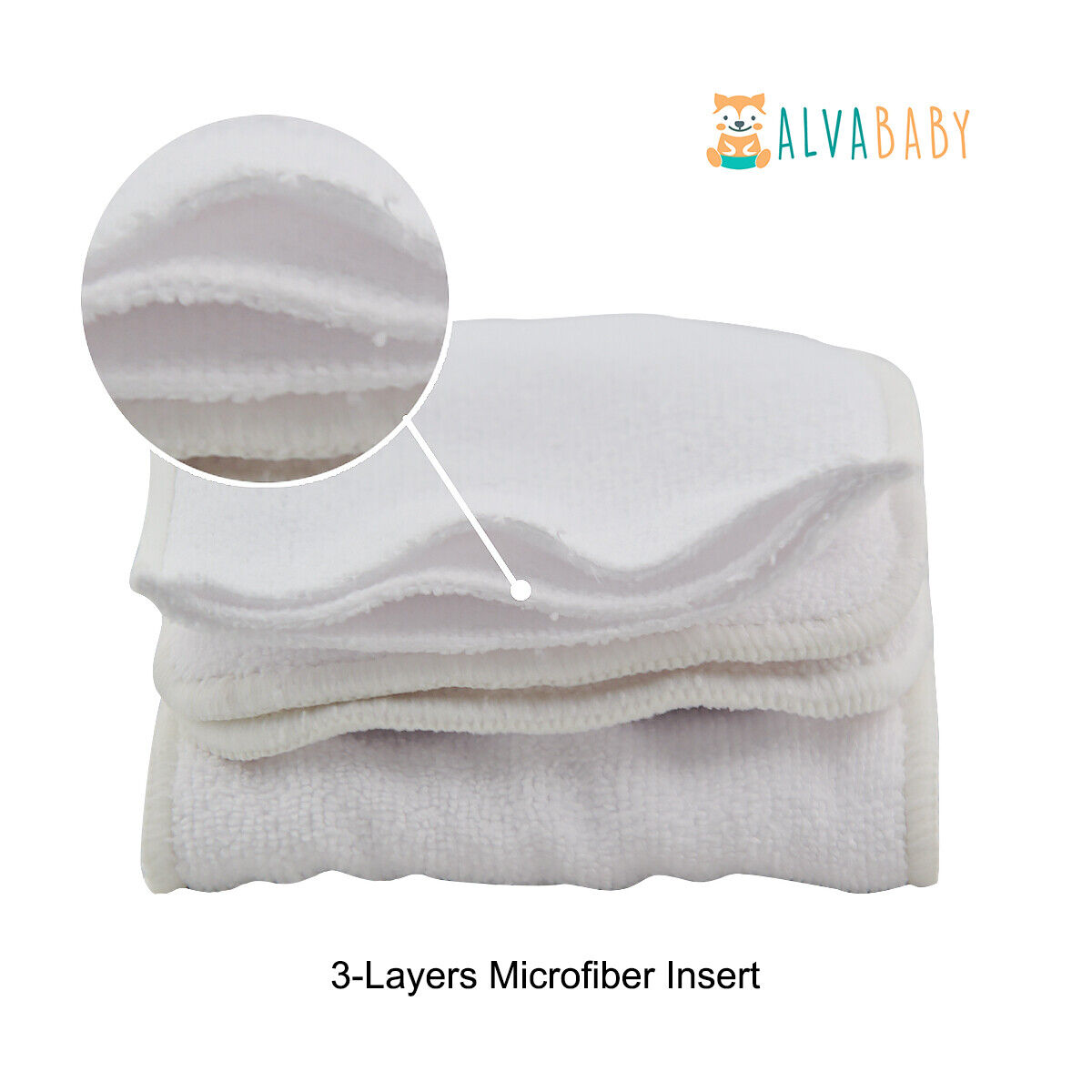 ALVABABY Cloth Diapers One Size Reusable Washable Pocket Nappy + Insert U Pick With 1 Microfiber Insert