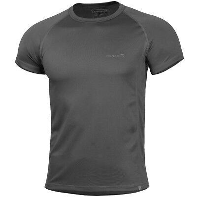 Pentagon Körper Schock T Shirt Armee Turnhalle Outdoor Freizeitbekleidung Schlan - Armee Körper