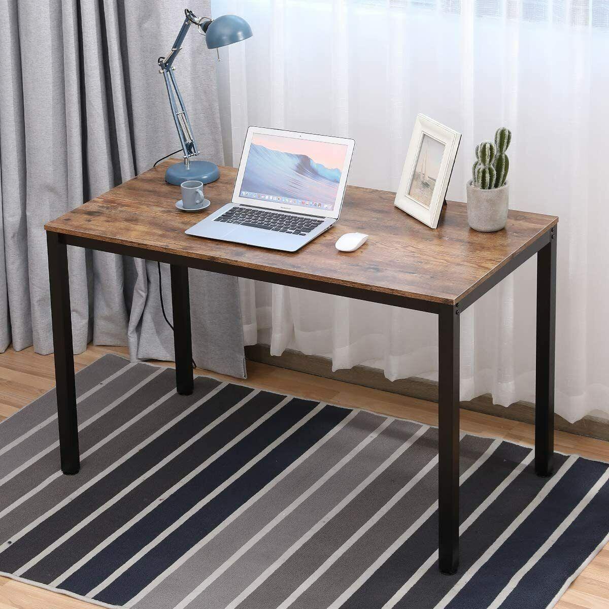 "Modern Simple Design Home Office Desk 47"" L Computer Table D"