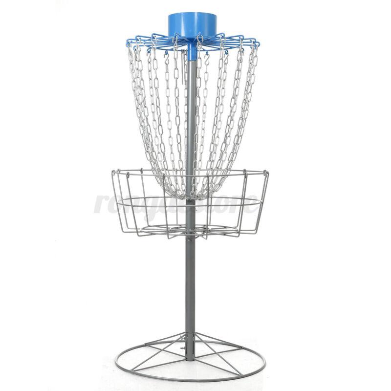 18 Cross Chain Discs Golf Baskets Catcher Target Flying Practice Outdoor Sport