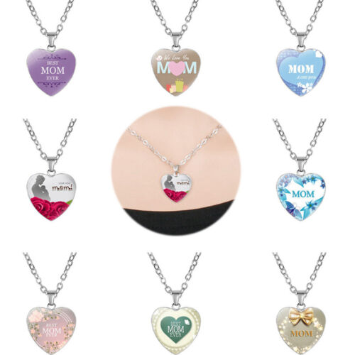 Gifts For Mom Birthday Jewelry Mother's Day Pendant Chain Ne