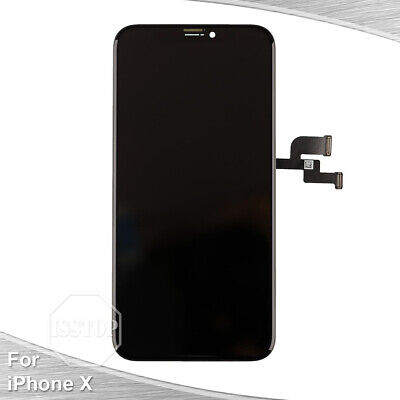 iPhone X LCD Display Touch Screen Digitizer Frame Replacement OEM A1865 A1901 (Replacement Screen Frames)
