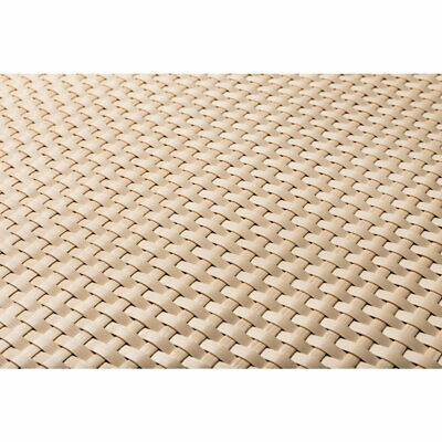 Artificial Rattan Weave Privacy Screening Balcony Fence Garden 1m x 20m Cream
