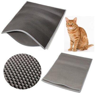 """Kitty Pet Cat Litter Mat Rug Trapper Supplie Super Large 24""""x30"""" EVA Foam Rubber"""