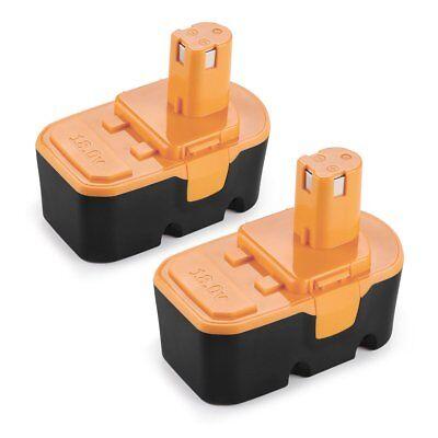Energup 2 Pack 18V 3 0Ah Replacement Battery For Ryobi One Plus P100 P101 Ryobi