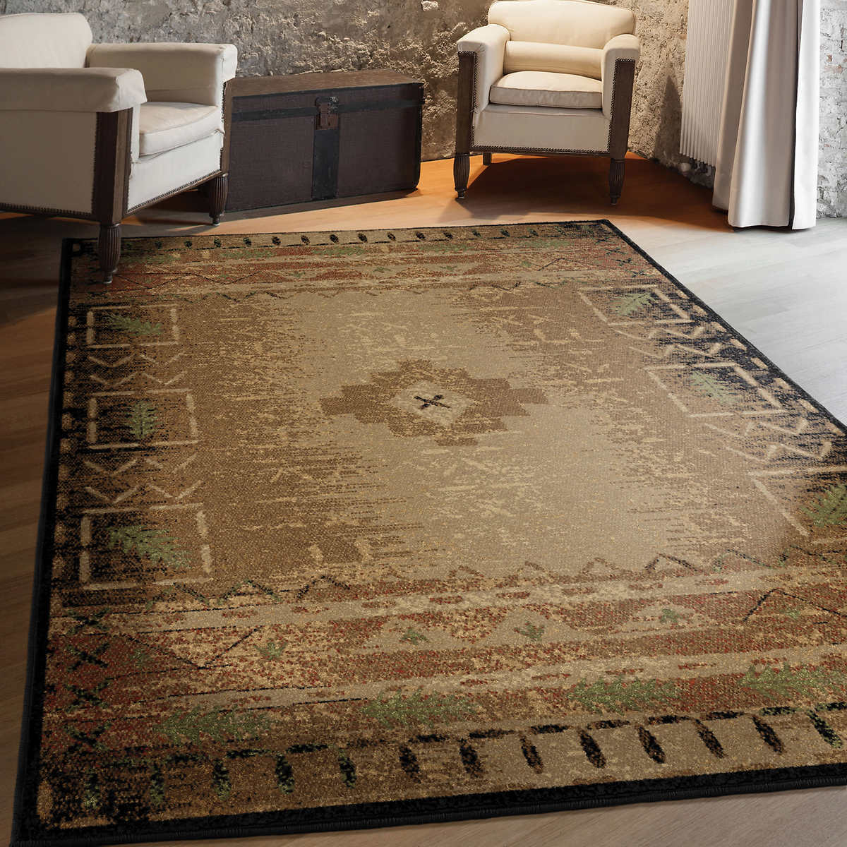 Rugs Area Carpet 8x10 Rug Large Floor Southwestern New
