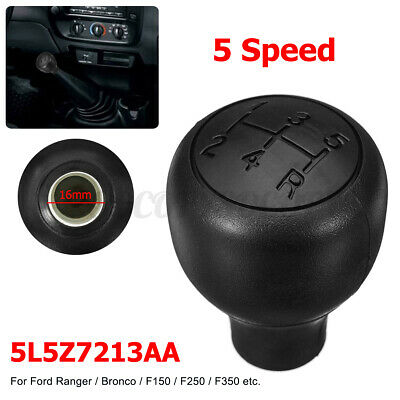 5 Speed Gear Shift Shifter Knob For Ford Ranger F150 250 Bronco E-150 250