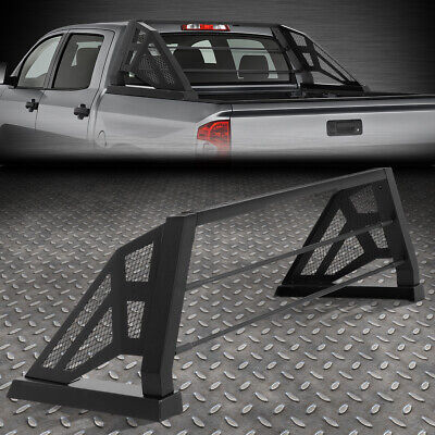 FOR 07-18 TOYOTA TUNDRA STYLESIDE TRUCK BED ALUMINUM MESH CHASE RACK ROLL BAR