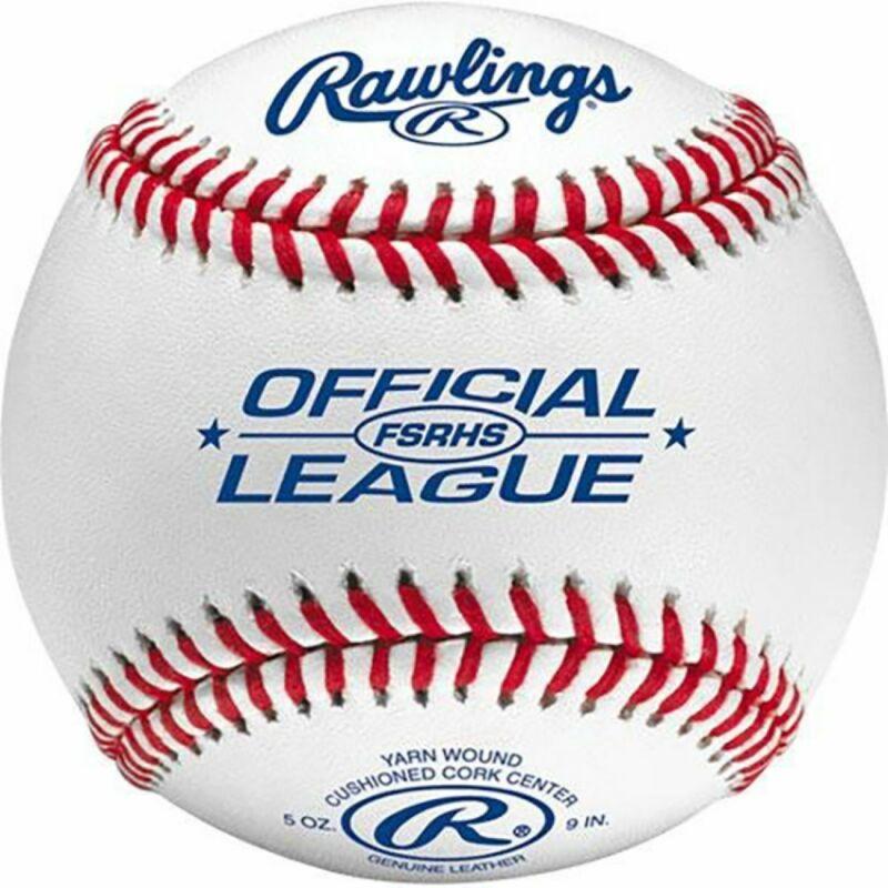 Rawlings FSRHS Flat Seam High School Baseball (Dozen)