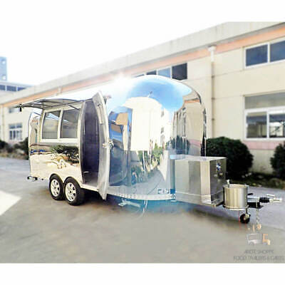17 Mobile Food Cart Trailer - Made To Order Stainless Steel Custom Food Truck