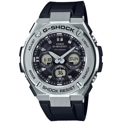 Casio G Steel Mens Gsts310 1A Tough Solar Multi Function Ana Digi 56Mm Watch