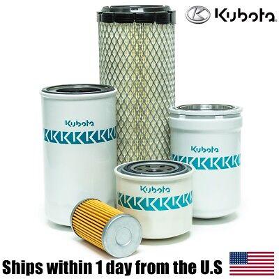 Genuine Oem Kubota L3010 L3130 L3410 L3430 Filter Maintenance Kit Hst Models