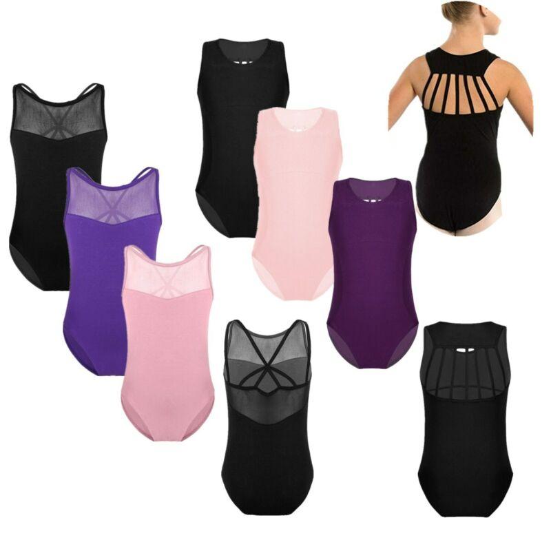 Toddler Girls Ballet Dress Gymnastics Leotard Backless//Lace Dancewear Costume