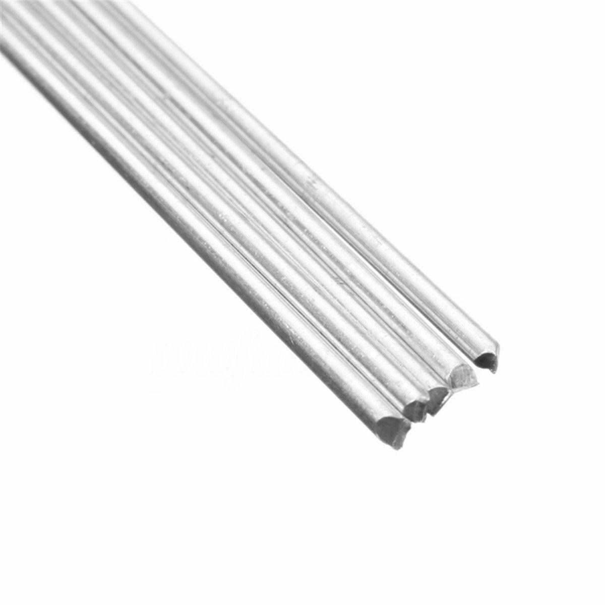 5~20pcs Low Temp Aluminum Alloy Silver Welding Brazing Solder Rod For Repair