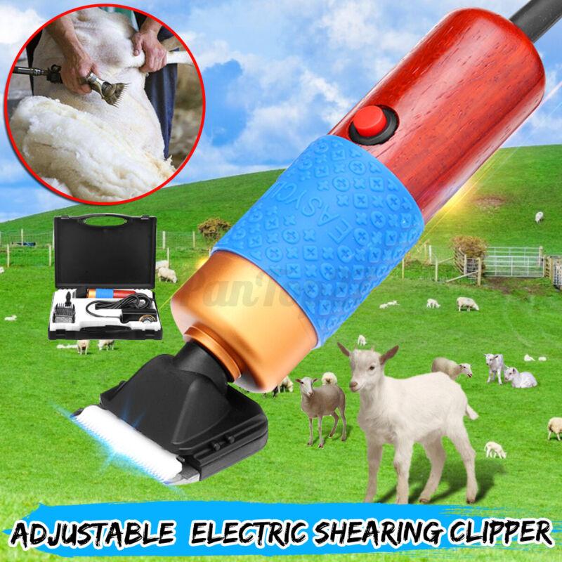 US Electric Sheep Goat Clipper Shears Wool Shearing Rabbit Pet Dog Animal Farm