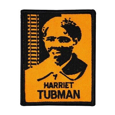 Freedom Fighter  Harriet Tubman  Iron On Patch African American Legend Applique