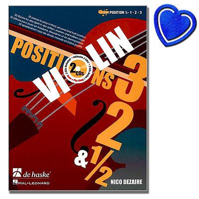 Violin Positions 3-2-1/2 - Violinschule - DHP1104881 - 9789043133333