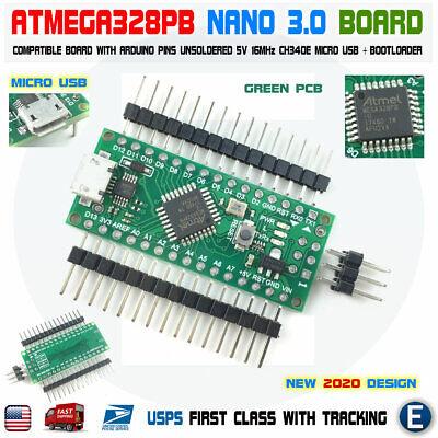 Nano V3.0 Compatible Board Atmega328p For Arduino Micro Usb Atmega328 Usa