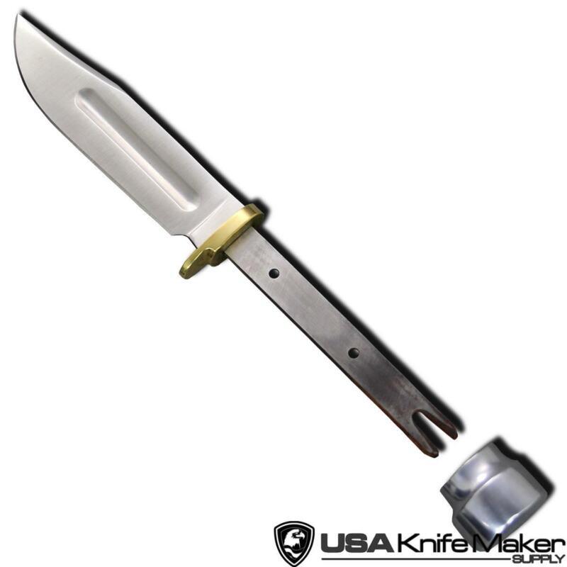 "Hunting Knife Blade Blank 006 - 440C Steel - 8 3/8"" OAL"
