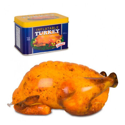 Inflatable Turkey Thanksgiving Bird Blow Up Funny Accessory Food Gag Gifts](Thanksgiving Blow Ups)