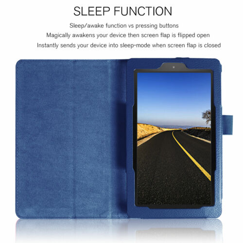 All Tablet Smart PU Leather Stand Case For Amazon Kindle Fire HD 10 8 7 9th Gen - $5.23