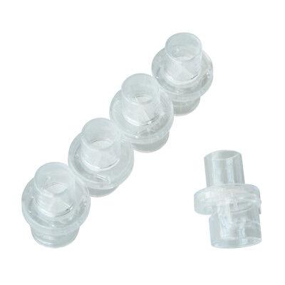 100 stücke Einwegventil Für CPR Beutel Gesichtsmaske CPR Training Zubehör ()