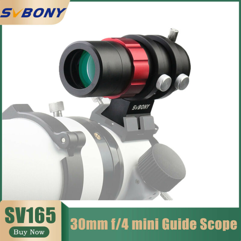 SV165 Mini Guide Scopes versatile 30mm aperture w/ a built-in helical focuser