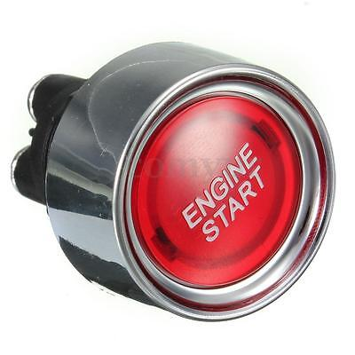 12V Universal Car Red Engine Ignition Starter Push Button Start Power Switch 15A