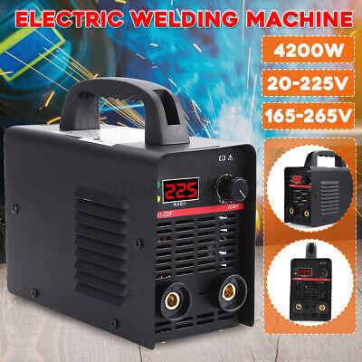 225a Mini Electric Welding Machine Igbt Dc Inverter Arc Mma Stick Welder Us