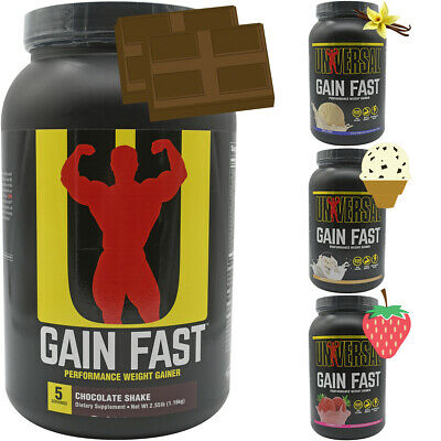 Universal Nutrition Gain Fast - 5 Servings - Performance Wei