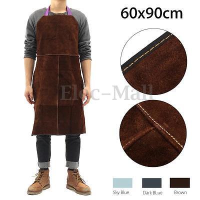 Welding Equipment Welder Heat Insulation Protection Cow Leather Apron 60x90cm