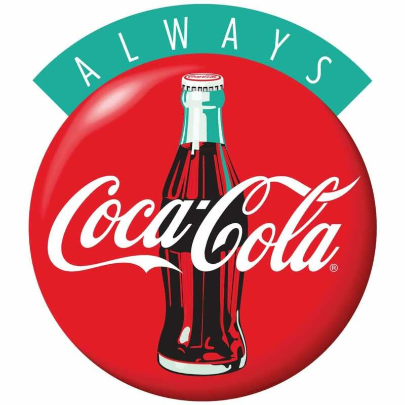Always Coca-Cola Disc Decal Peel & Stick Wall Graphic