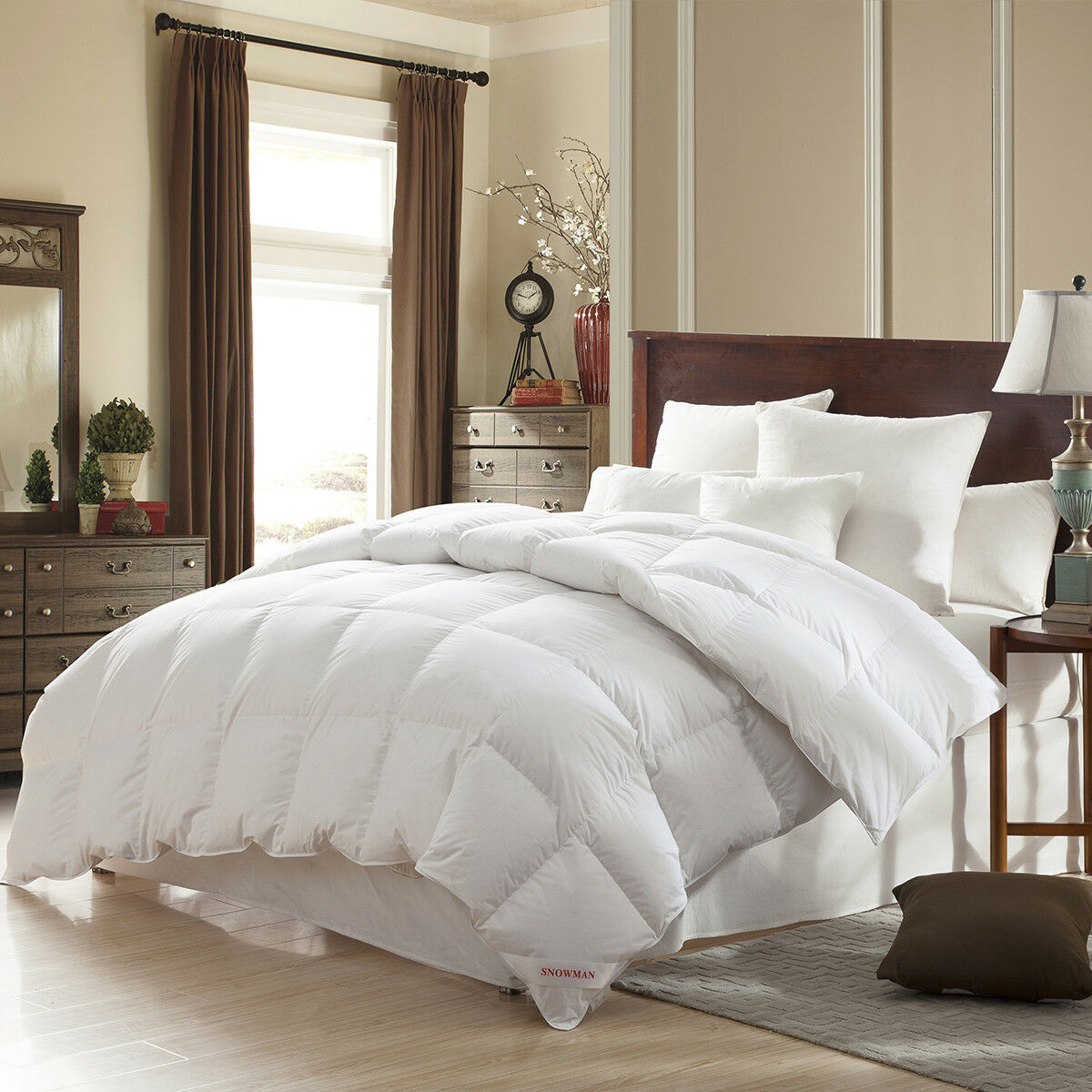 oversized king comforter sets super and fluffy goose down feather size 106x90