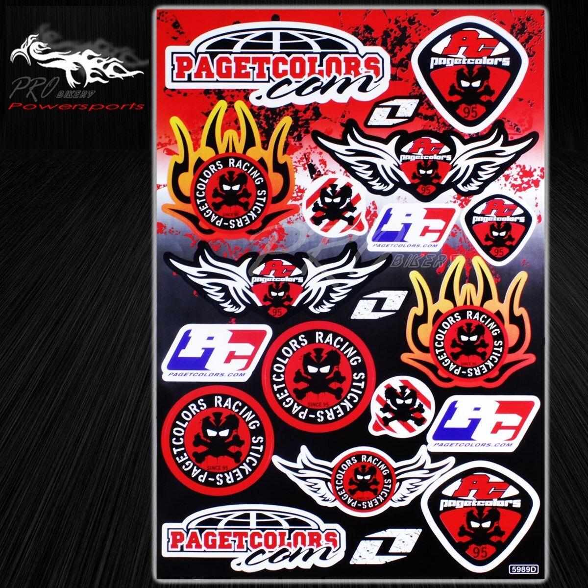 Automotive Sponsor Logo Decal Sticker Motorcycle//Dirt Bike//Car//Helmet Universal