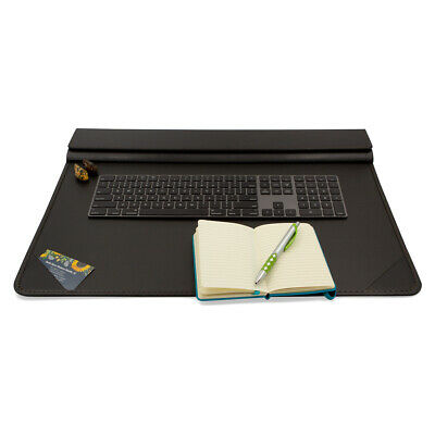 Artistic Office Products Executive Faux Leather Desktop Organizer Neat Desk Pad