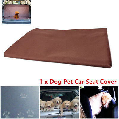 Waterproof Pet Dog Cat Car Boot Seat Cover SUV/Trunk Protector Liner Mat Oxford