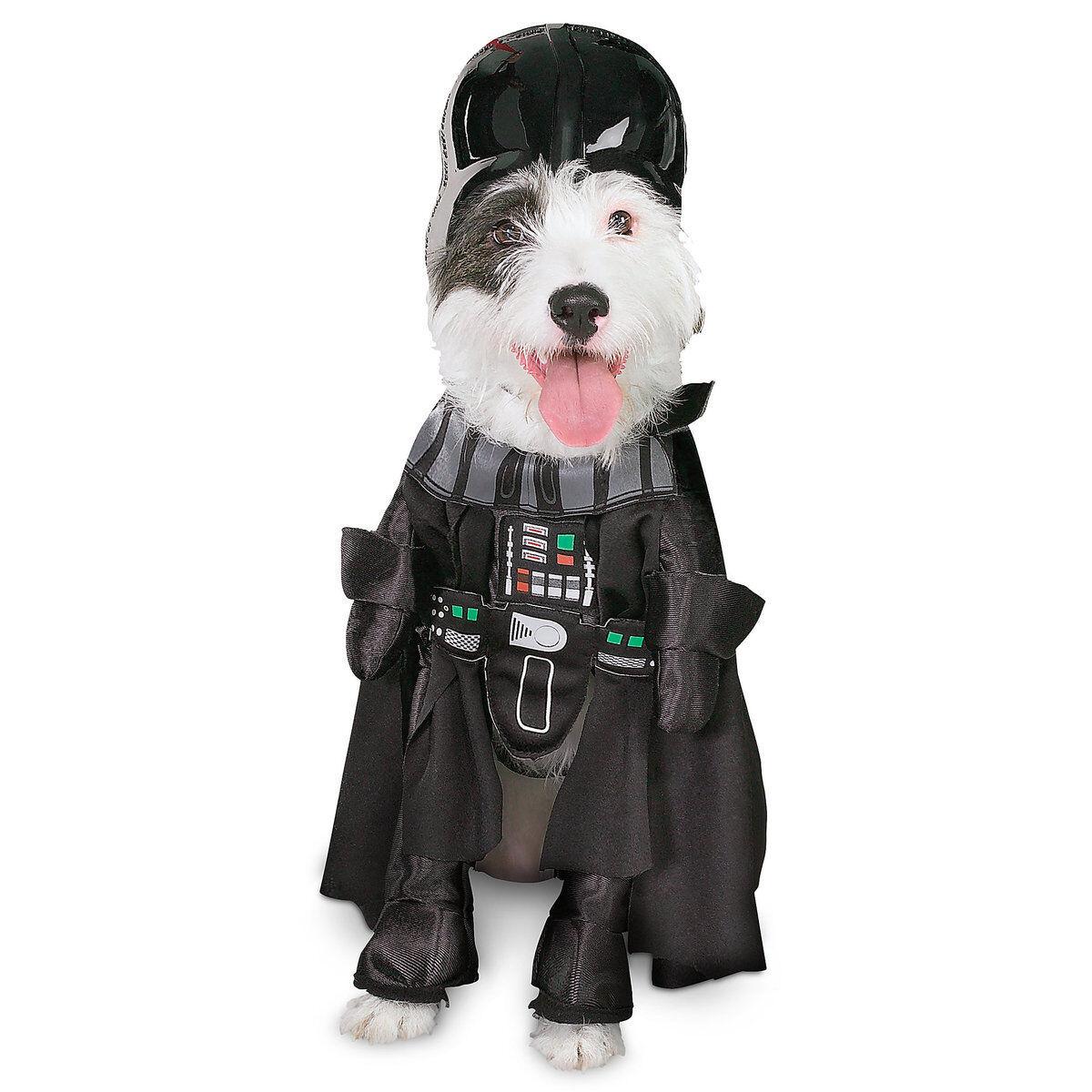 Disney Rubies Star Wars Darth Vader Pet Dog Costume Size S M L XL