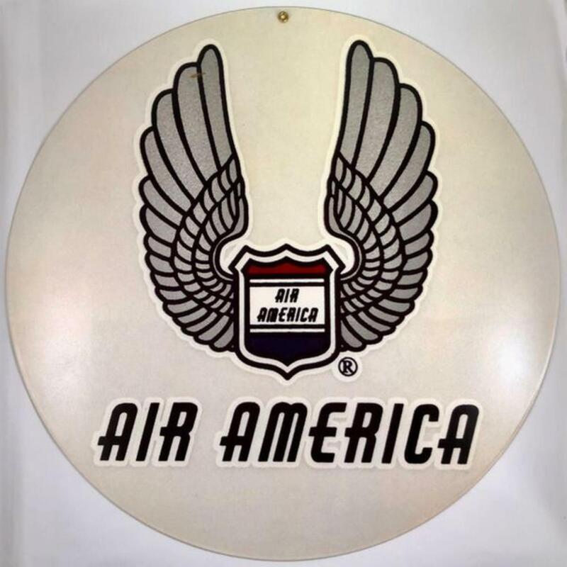 Air America Metal Sign, Vietnam War, Laos, S. E. Asia Vintage Aviation  OUR-0103