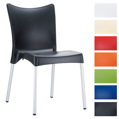 Stuhl Juliette Gartenstuhl Kunststoffstuhl Plastikstuhl Stapelbar Terrassenstuhl